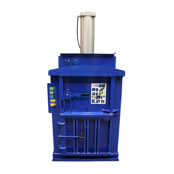 Prensa vertical MacFab 60 EN Neumática Turnover Recycling Systems