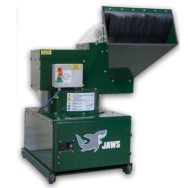 Trituradora de botellas de vidrio PEL BB03 - Turnover Recycling Systems
