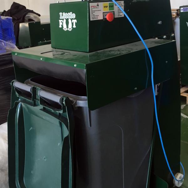 Compactadora de cubos de 140 y 240L PEL