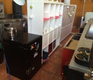 La empresa de catering Hermanos de la Torre está encantada con su trituradora de botellas BB01
